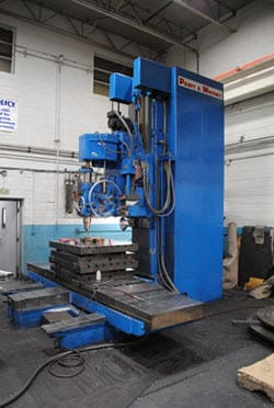 Horizontal machining services